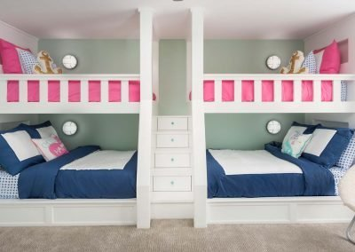 Beach Dream House Childrens Bedroom Bunk Beds