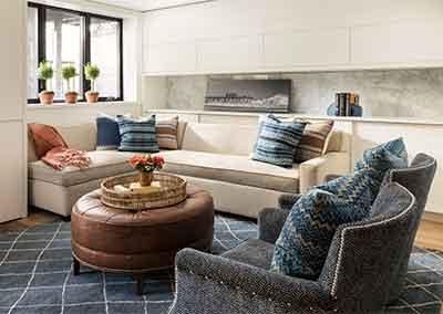 AHR Designs Hoboken Basement