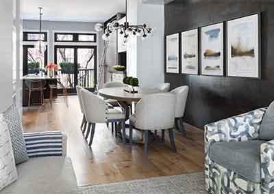 AHR Designs Hoboken Dining Room