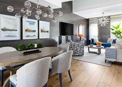 AHR Designs Hoboken Living Room